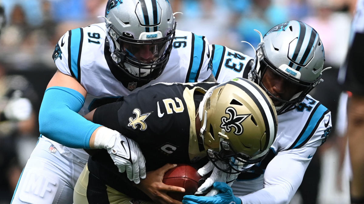 NFL Week 2 grades: Saints get an 'F' for ugly loss to Panthers Titans earn 'A' after valiant comeback win – CBS Sports
