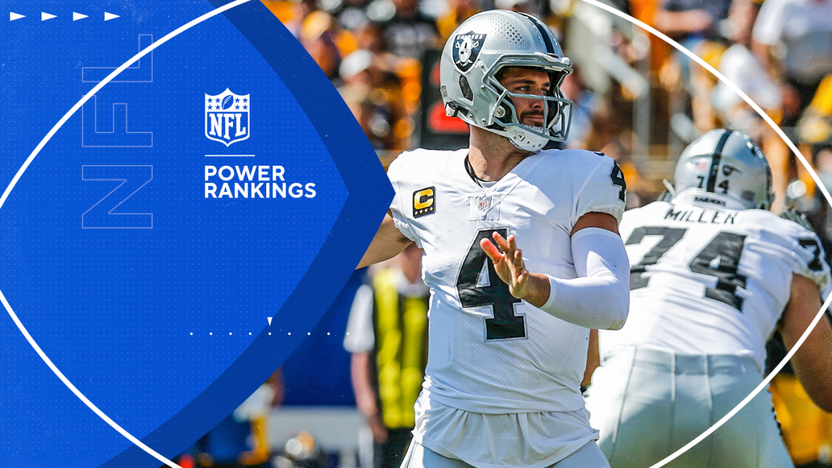 NFL Week 3 Power Rankings: Raiders move into top 10, Panthers, Broncos on the rise after perfect starts