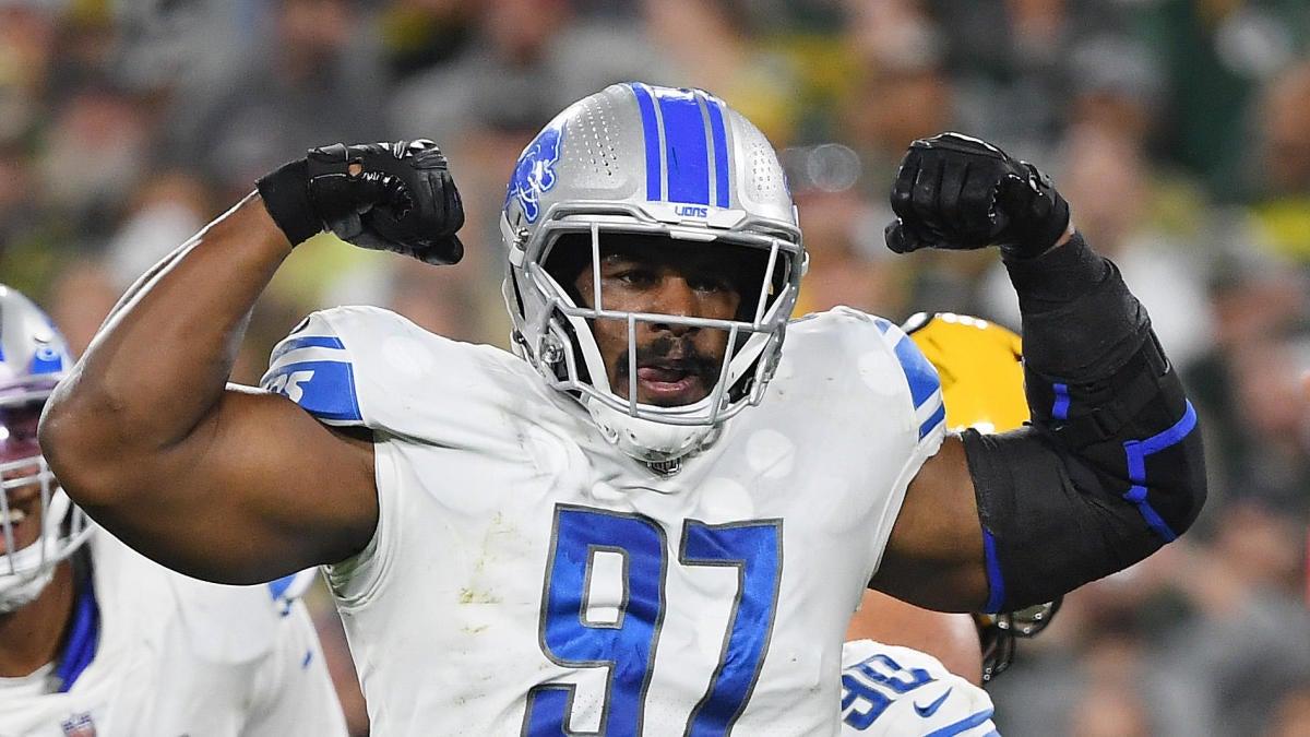 Los Leones presentan una nueva combinación especial de uniformes para el enfrentamiento de 'Monday Night Football' con los Packers