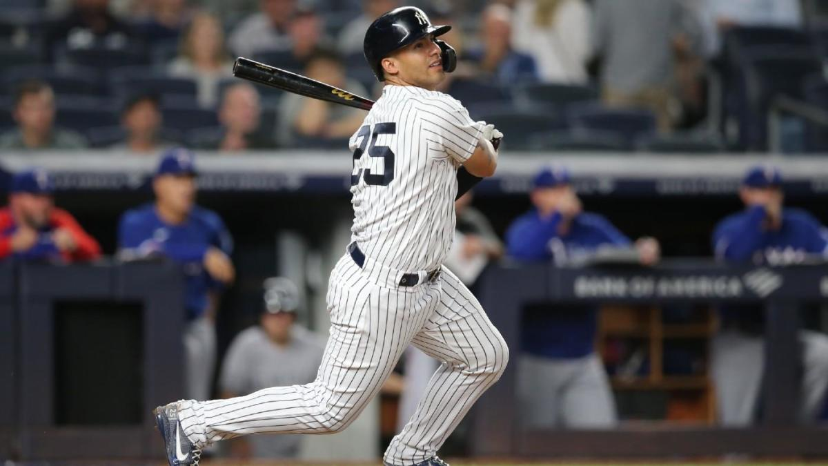Yankees beat Rangers, retake lead over Blue Jays in wild card race thanks to bottom of lineup, bullpen - CBS Sports