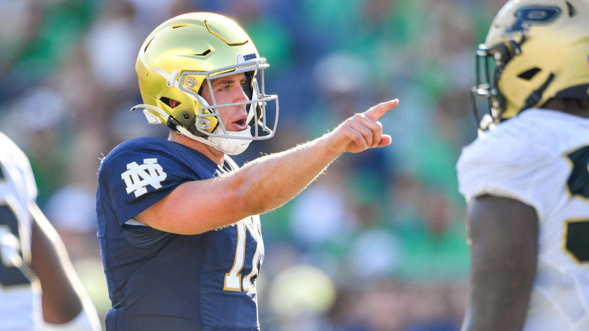 Notre Dame vs. Wisconsin: Live stream watch online TV channel prediction pick spread football game odds – CBS Sports