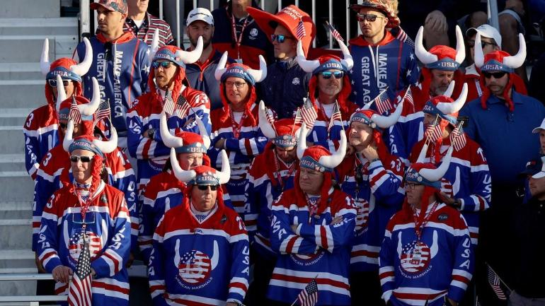 2021 Ryder Cup USA Vikings