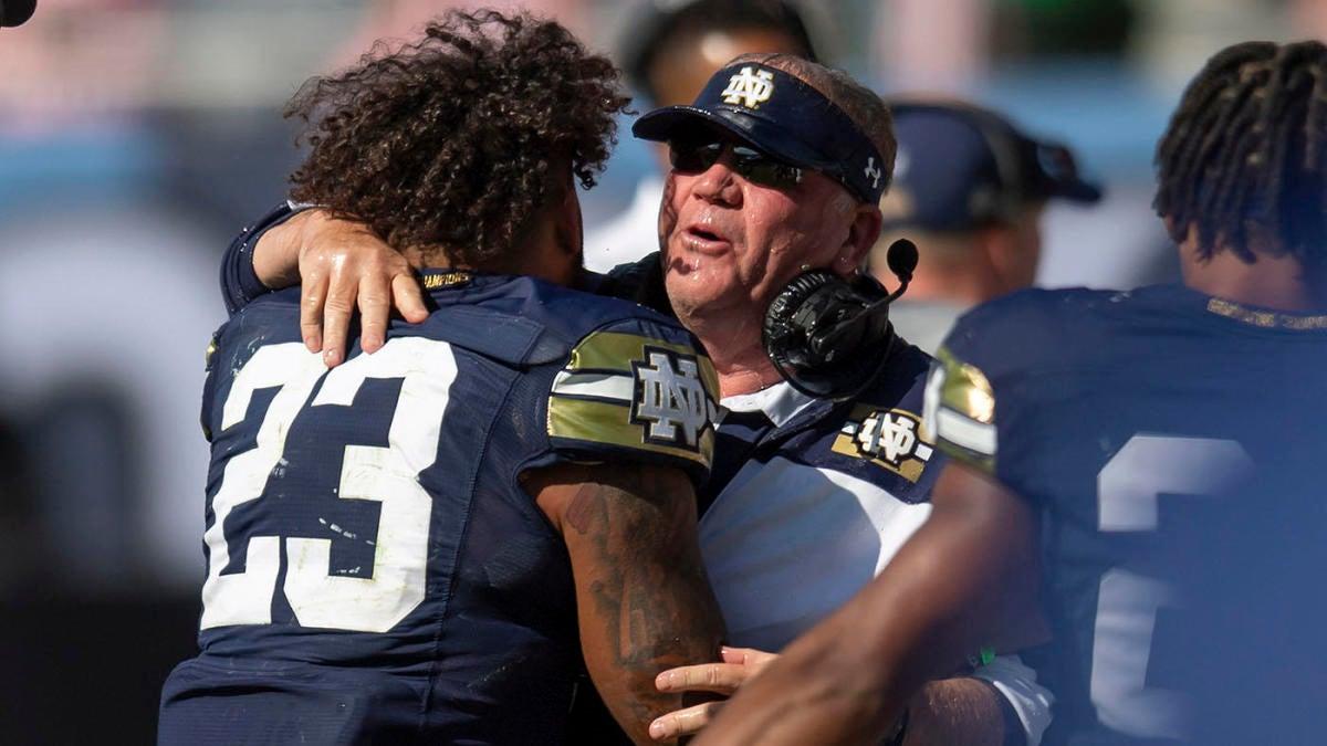 Notre Dame's Brian Kelly passes Knute Rockne as winningest coach in Fighting Irish history - CBS Sports