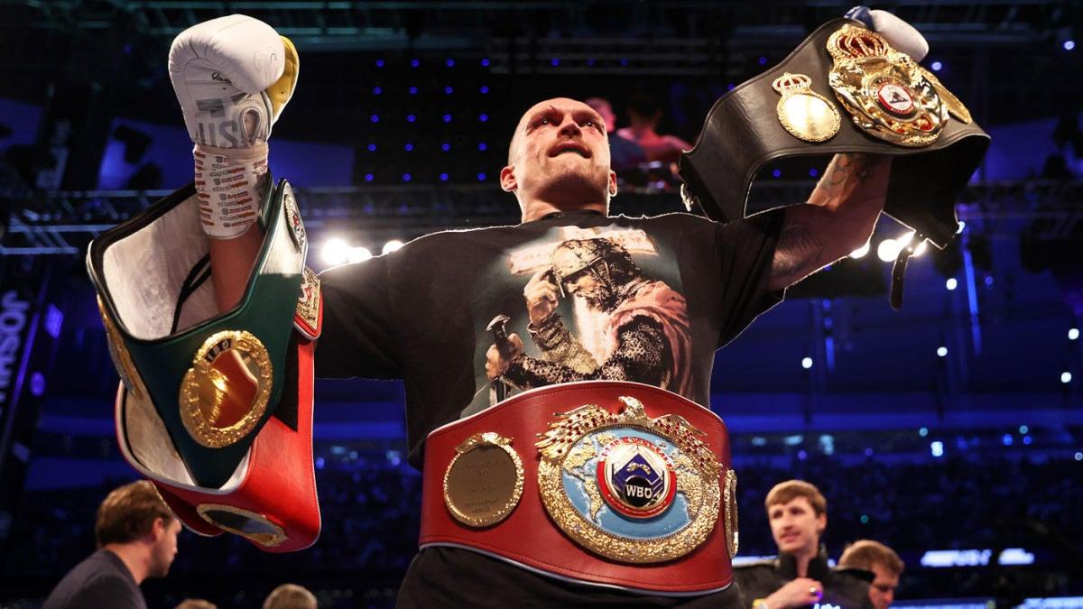 Próxima pelea de Oleksandr Usyk: la unificación de peso pesado es poco probable;  Anthony Joshua espera invocar la cláusula de revancha