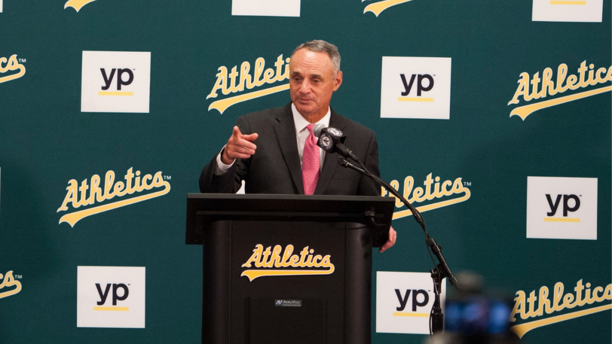 Rob Manfred says MLB is 'not sure we see a path to success' for a new A's ballpark in Oakland
