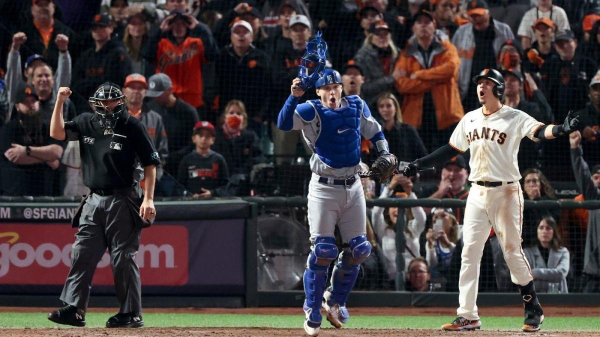 Giants vs.Dodgers: ¿Por qué la llamada de check-swing para finalizar el Juego 5 de la NLDS no fue revisable?