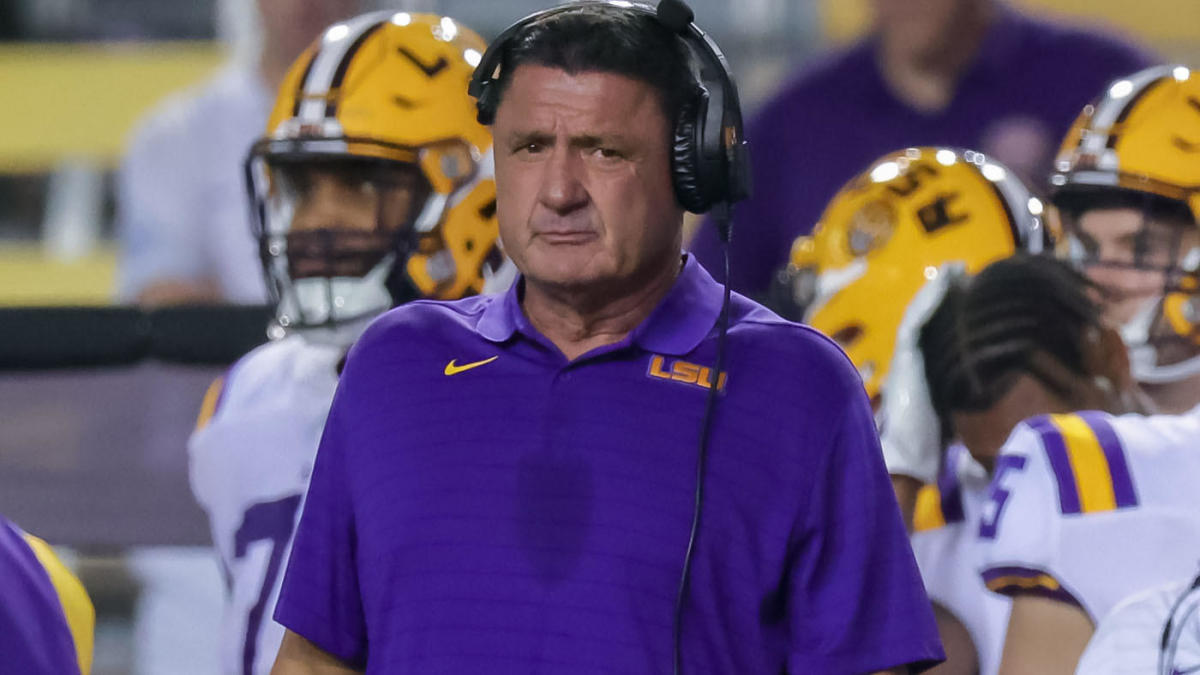 LSU coach Ed Orgeron agree to part ways at conclusion of 2021 college football season – CBS Sports