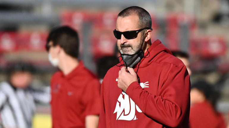 Washington State Football Coach Nick Rolovich, Four Assistants Fired for Cause After Refusing to Take Coronavirus Vaccine, Follow University and State Mandates
