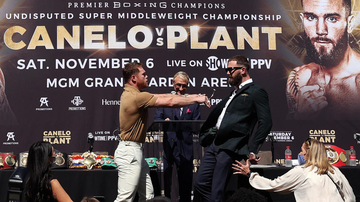 Canelo Alvarez vs. Caleb Plant: Fight card, date, odds, location, rumors, info for title unification bout