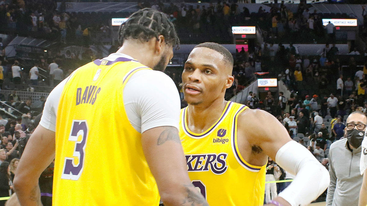 Russell Westbrook breaks out for Lakers, helps sink Spurs in overtime with LeBron James sidelined